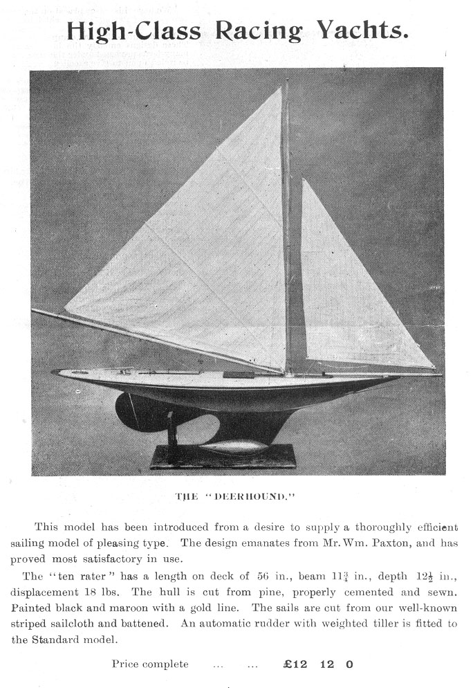 Langth and Sail Area Rule